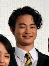 映画『ちはやふる-結び-』公開初日舞台あいさつに出席した森永悠希 (C)ORICON NewS inc.