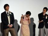 映画『ちはやふる-結び-』公開初日舞台あいさつの模様 (C)ORICON NewS inc.