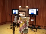 """""""録音中""""のコレサワ(C)2011 2015 tv asahi・SANRIO"""