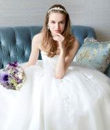 『WATABE WEDDING loves Barbie』のウェディングドレス