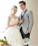 『WATABE WEDDING loves Barbie』のウェディングドレス&タキシード