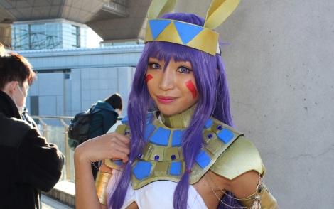 『コミックマーケット93』で見つけた美人レイヤー・かえるちゃんさん (C)oricon ME inc.
