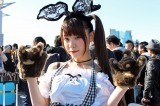 『コミックマーケット93』2日目に見つけた美人美白レイヤー・イチジョウリヲ。さん (C)oricon ME inc.