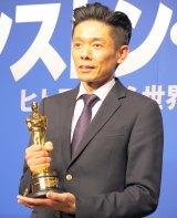 『第90回アカデミー賞』でメイクアップ&ヘアスタイリング賞を受賞した辻一弘氏 (C)ORICON NewS inc.