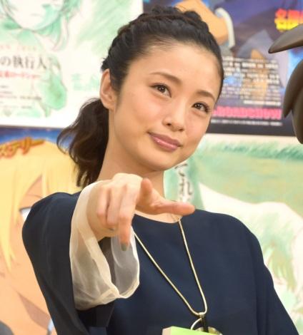 『名探偵コナン ゼロの執行人』公開アフレコイベントに参加した上戸彩 (C)ORICON NewS inc.