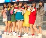 Chuning Candy(左から)琴音、千夏、ソフィー、LILI、ゆうり、優美香、愛子 (C)ORICON NewS inc.