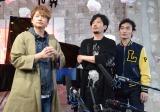 『POP UP SHOP』の内覧をする(左から)香取慎吾、稲垣吾郎、草なぎ剛 (C)ORICON NewS inc.