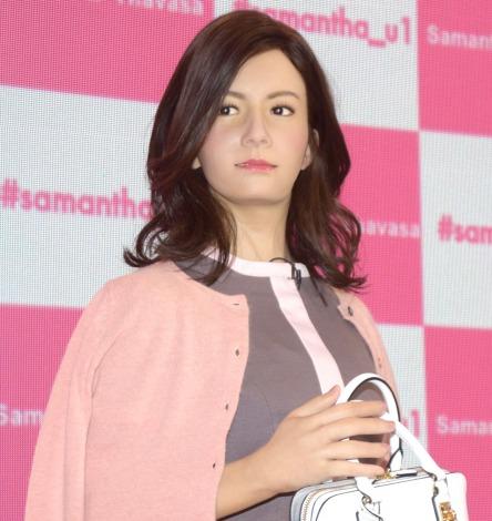 サムネイル サマンサタバサのアンドロイド社員1号「Samantha U」 (C)ORICON NewS inc.
