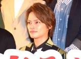 映画『曇天に笑う』上映後初日舞台あいさつに出席した中山優馬 (C)ORICON NewS inc.