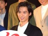 映画『曇天に笑う』上映後初日舞台あいさつに出席した福士蒼汰 (C)ORICON NewS inc.