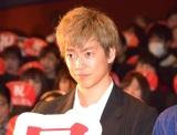 映画『曇天に笑う』上映後初日舞台あいさつに出席した大東駿介 (C)ORICON NewS inc.