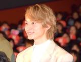 映画『曇天に笑う』上映後初日舞台あいさつに出席した小関裕太 (C)ORICON NewS inc.