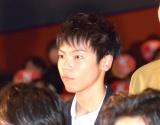 映画『曇天に笑う』上映後初日舞台あいさつに出席した若山耀人 (C)ORICON NewS inc.