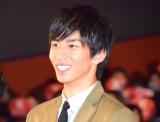 映画『曇天に笑う』上映後初日舞台あいさつに出席した市川知宏 (C)ORICON NewS inc.