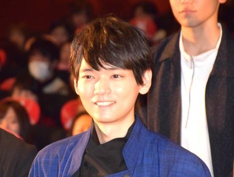 映画『曇天に笑う』上映後初日舞台あいさつに出席した古川雄輝 (C)ORICON NewS inc.