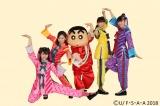 3月23日放送、テレビ朝日系『ミュージックステーション』ももいろクローバーZのダンスにクレヨンしんちゃんが挑む