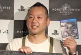 PlayStation4用ソフト『モンスターハンター:ワールド』原宿マルチプレイスポットオープニングイベントに出席したバイきんぐ・西村瑞樹 (C)ORICON NewS inc.