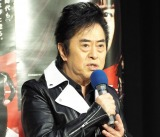 NHKドラマ『真夜中のスーパーカー』の取材会に出席した水木一郎 (C)ORICON NewS inc.