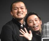 第2子誕生を報告したカミナリ・石田たくみ(右) (C)ORICON NewS inc.