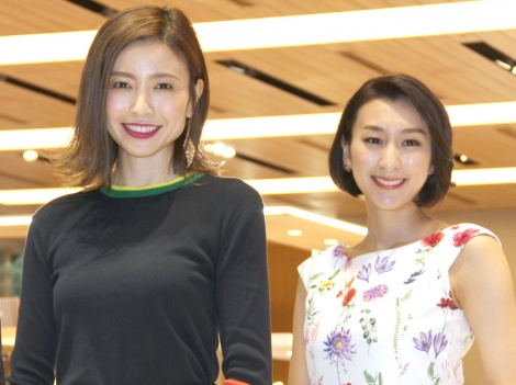 サムネイル 前向きな結婚感を語った(左から)片瀬那奈、浅田舞(C)ORICON NewS inc.