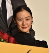 映画「妻よ薔薇のように 家族はつらいよIII」完成披露試写会に出席した蒼井優 (C)ORICON NewS inc.