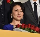 映画「妻よ薔薇のように 家族はつらいよIII」完成披露試写会に出席した夏川結衣 (C)ORICON NewS inc.