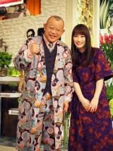 笑福亭鶴瓶のトーク番組『A-Studio』(TBS)が放送10年目に突入。4月6日放送から新サブMCに女優の川栄李奈が登場 (C)ORICON NewS inc.