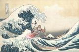 阿部寛、今度は江戸の荒波を乗り越えるサーファーに 『のみとり侍』第2弾チラシビジュアル