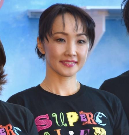 ミュージカル『メリー・ポピンズ』公開舞台げいこに出席した濱田めぐみ (C)ORICON NewS inc.