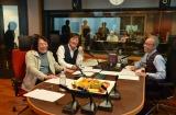 『MBSヤングタウン』の収録を行ったアリス(左から)矢沢透、堀内孝雄、谷村新司