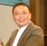『プロ野球ワイド 開幕直前スペシャル』収録後の囲み取材に参加した中川家礼二 (C)ORICON NewS inc.