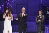 24日放送のフジテレビ系『MUSIC FAIR』でJUJU、谷村新司、新妻聖子がコラボ (C)フジテレビ