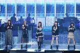 24日放送のフジテレビ系『MUSIC FAIR』に出演するLittle Glee Monster (C)フジテレビ