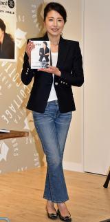 スタイルブック『Hitomi Bon!』(主婦の友社)発売記念イベントに出席した高橋ひとみ (C)ORICON NewS inc.