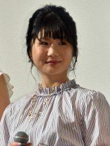 映画『女々演』初日舞台あいさつに出席した小野花梨 (C)ORICON NewS inc.