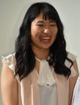 映画『女々演』初日舞台あいさつに出席した齋藤美咲 (C)ORICON NewS inc.