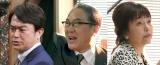 フジテレビ系連続ドラマ『コンフィデンスマンJP』に出演する石黒賢、佐野史郎、かたせ梨乃 (C)フジテレビ