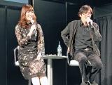 映画『ニンジャバットマン トークショー』に登壇した(左から)加隈亜衣、岩浪美和音響監督 (C)ORICON NewS inc.
