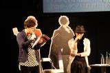 スマホゲー『イケメンライブ』イベントに出席した(左から)小野友樹、黒田崇矢
