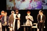 スマホゲー『イケメンライブ』イベントに出席した(左から)小野友樹、黒田崇矢、深町寿成、大河元気