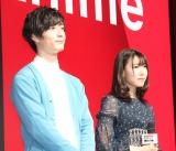 『ソードガイ The Animation』のイベントに出席した(左から)梅原裕一郎、相坂優歌 (C)ORICON NewS inc.