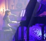 ソロ新曲をピアノ弾き語りで披露した山出愛子 (C)ORICON NewS inc.