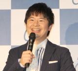 『2018年度 KEIRIN 新CM発表会』に出席したオードリー・若林正恭 (C)ORICON NewS inc.