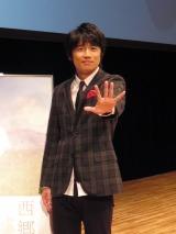 福井市内で開催されたNHK公開セミナー『大河ドラマ「西郷どん」トークショー』に出演した風間俊介(C)NHK