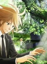 アニメ『ピアノの森』キービジュアル(C)一色まこと・講談社/ピアノの森アニメパートナーズ