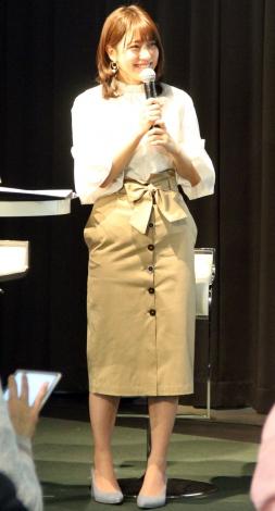映画『すごい奴らがいる! ものづくりアスリート』上映会&トークイベントに出席した池澤あやか (C)ORICON NewS inc.