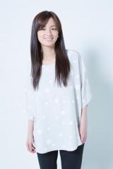 『ちいさな英雄—カニとタマゴと透明人間—』声優を務める尾野真千子 撮影:西村康