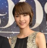 舞台『銀河鉄道999〜GALAXY OPERA〜』の製作発表会見に出席したハルカ (C)ORICON NewS inc.
