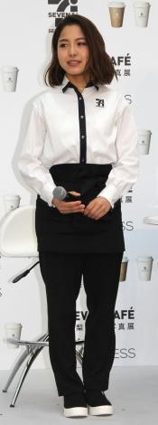 『セブンカフェpresents高梨沙羅写真展カフェ「SARA'S PROGRESS」』に出席した高梨沙羅(C)ORICON NewS inc.