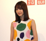 『UNIQLO×Marimekko』新商品発表会に出席した桐谷美玲 (C)ORICON NewS inc.